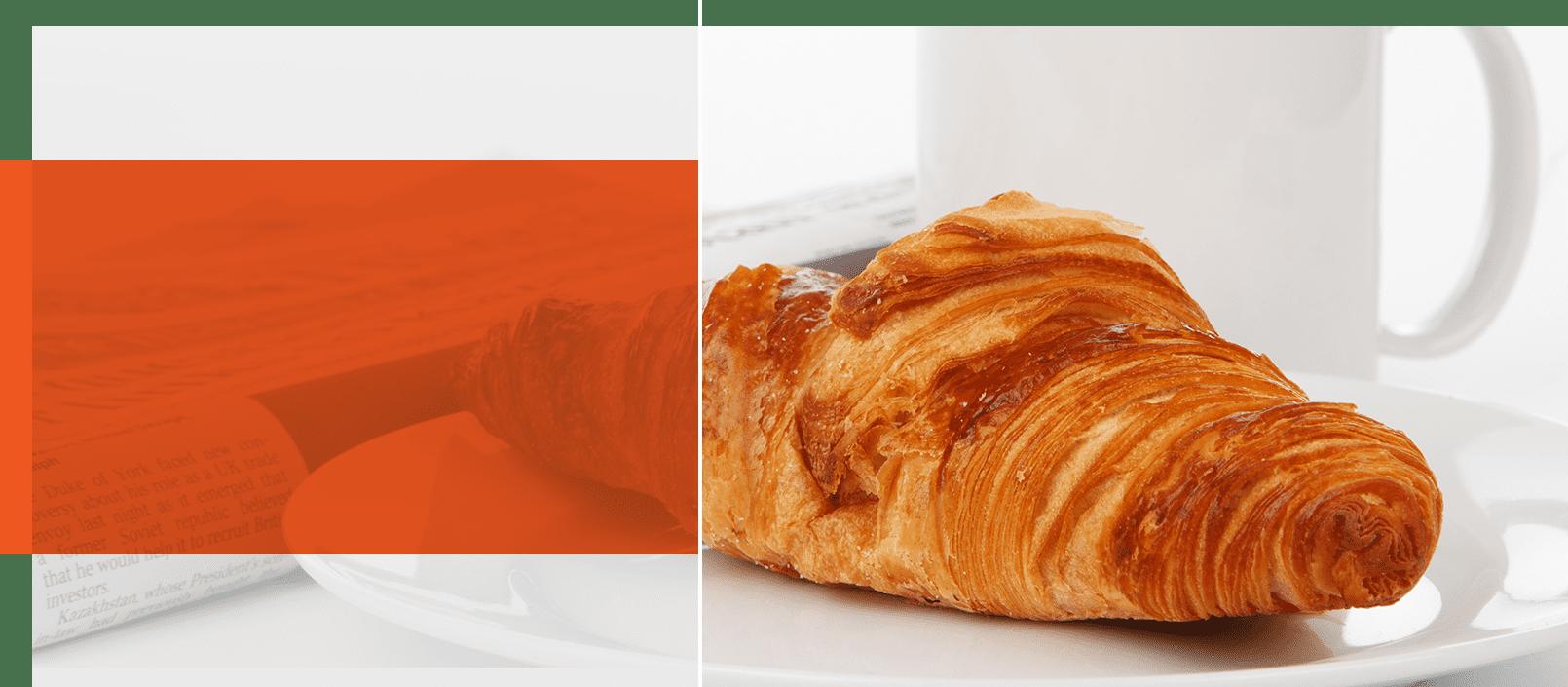 Foto Croissantje na een maag of darmonderzoek