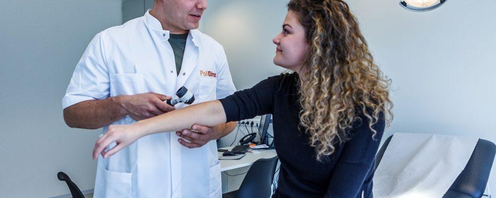 Laat je huid checken door een dermatoloog